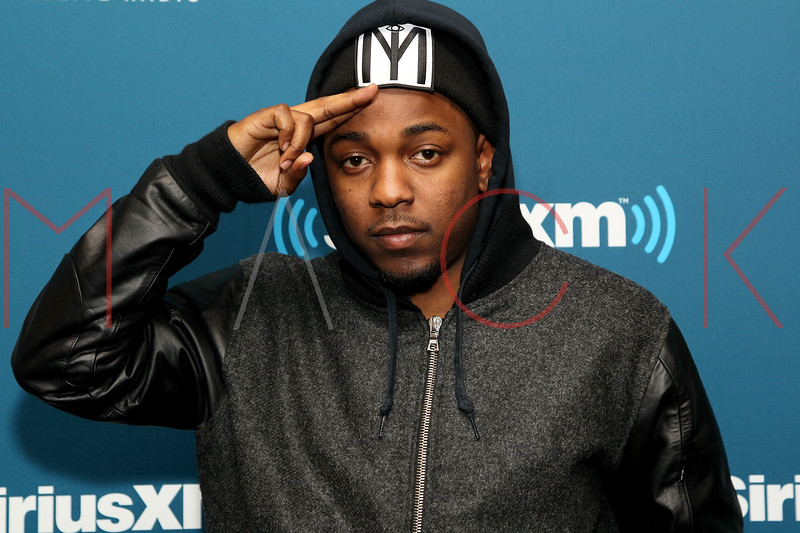 """NEW YORK, NY - JANUARY 24:  Kendrick Lamar visits Kendrick Lamar Live On Hip-Hop Nation's """"Thursday Night Live With DJ Envy And DJ Steel"""" at SiriusXM Studios on January 24, 2013 in New York City.  (Photo by Steve Mack/S.D. Mack Pictures)"""