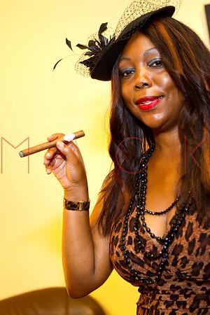 NEW YORK, NY - JULY 29:  Reality TV show personality Inez Cain of NJ Socialites seen at Davidoff Cigars on July 29, 2013 in New York City.