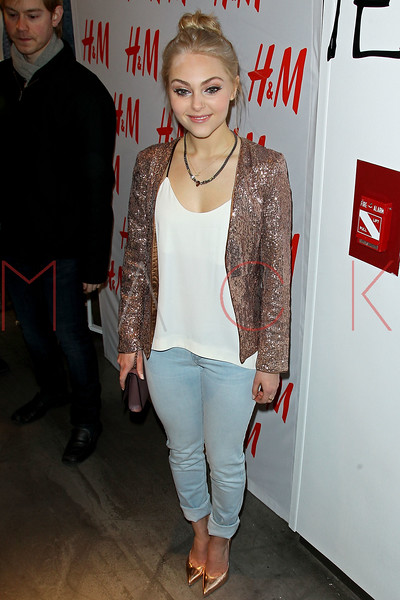 NEW YORK, NY - MARCH 02:  Actress AnnaSophia Robb attends the H&M Denim Days launch at H&M Fifth Avenue on March 2, 2013 in New York City.  (Photo by Steve Mack/S.D. Mack Pictures)