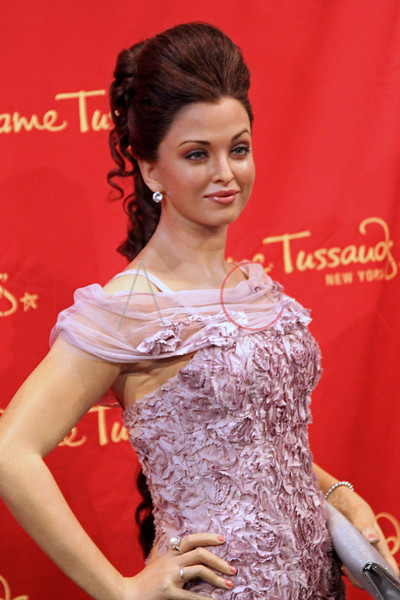New York, NY - March 07: The wax figure of Aishwarya Rai Bachchan at the Bollywood Exhibit Unveiling at Madame Tussauds on Thursday, March 7, 2013 in New York, NY.  (Photo by Steve Mack/S.D. Mack Pictures)