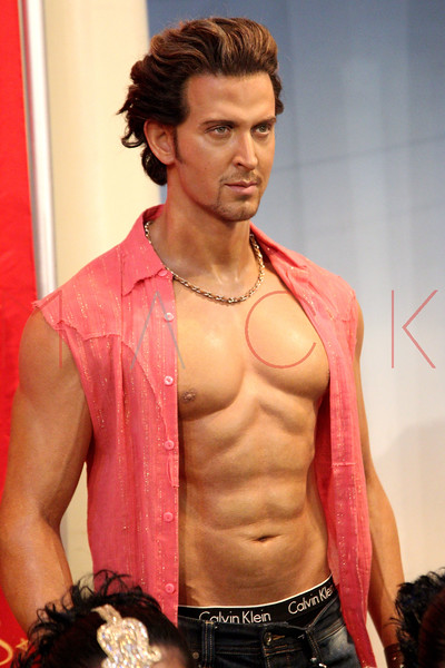 New York, NY - March 07: The wax figure of Hrithik Roshan at the Bollywood Exhibit Unveiling at Madame Tussauds on Thursday, March 7, 2013 in New York, NY.  (Photo by Steve Mack/S.D. Mack Pictures)