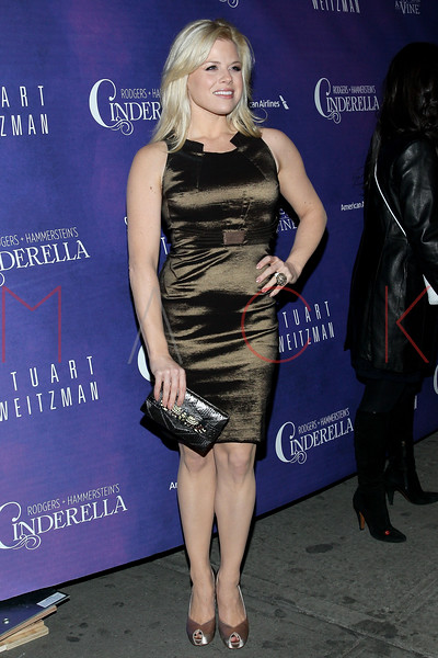 New York, NY - March 03: Megan Hilty at Rodgers + Hammerstein's CINDERELLA Broadway Premiere at the Broadway Theater on Sunday, March 3, 2013 in New York, NY.  (Photo by Steve Mack/S.D. Mack Pictures)