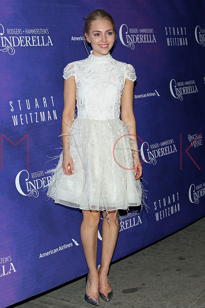 New York, NY - March 03: AnnaSophia Robb at Rodgers + Hammerstein's CINDERELLA Broadway Premiere at the Broadway Theater on Sunday, March 3, 2013 in New York, NY.  (Photo by Steve Mack/S.D. Mack Pictures)