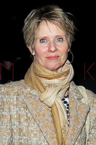 New York, NY - March 03: Cynthia Nixon at Rodgers + Hammerstein's CINDERELLA Broadway Premiere at the Broadway Theater on Sunday, March 3, 2013 in New York, NY.  (Photo by Steve Mack/S.D. Mack Pictures)