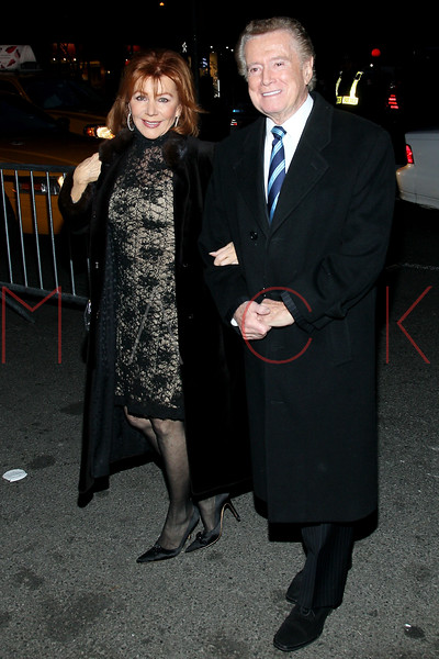 New York, NY - March 03: Joy Philbin and Regis Philbin at Rodgers + Hammerstein's CINDERELLA Broadway Premiere at the Broadway Theater on Sunday, March 3, 2013 in New York, NY.  (Photo by Steve Mack/S.D. Mack Pictures)