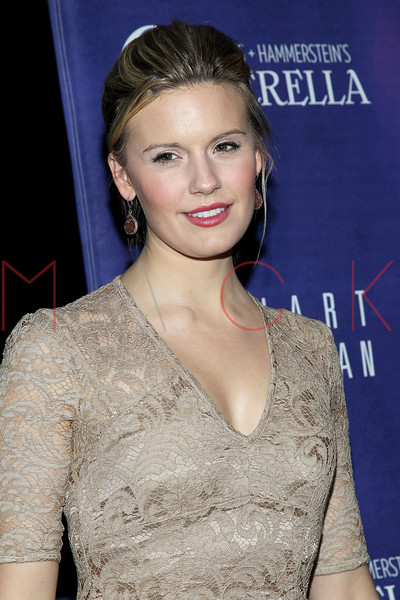 New York, NY - March 03: Maggie Grace at Rodgers + Hammerstein's CINDERELLA Broadway Premiere at the Broadway Theater on Sunday, March 3, 2013 in New York, NY.  (Photo by Steve Mack/S.D. Mack Pictures)