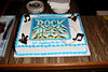 """NEW YORK, NY - MARCH 05:  Atmosphere (cake) at """"Rock Of Ages"""" Celebrates Breaking Into The Top 50 Longest Running Broadway Shows at the Helen Hayes Theatre on March 5, 2013 in New York City.  (Photo by Steve Mack/S.D. Mack Pictures)"""