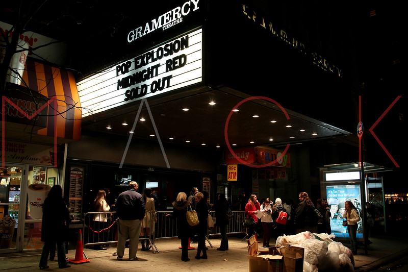 New York, NY - March 02: Atmosphere (Exterior Gramercy Marquee) at Teen Music Festival Featuring the Countries Fastest Rising Boy Band Midnight Red at the Gramercy Theatre on Saturday, March 2, 2013 in New York, NY.  (Photo by Steve Mack/S.D. Mack Pictures)
