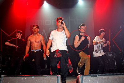New York, NY - March 02:  The Teen Music Festival Featuring the Countries Fastest Rising Boy Band Midnight Red at the Gramercy Theatre on Saturday, March 2, 2013 in New York, NY.