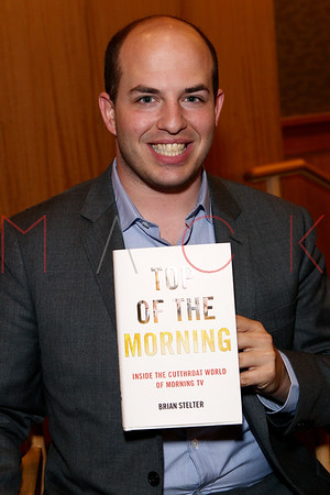 """NEW YORK, NY - MAY 07:  Brian Stelter promotes the new book """"Top of the Morning: Inside the Cutthroat World of TV"""" at Barnes & Noble, 86th & Lexington on May 7, 2013 in New York City."""