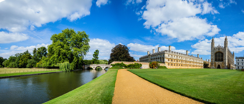 King's College and The River Cam