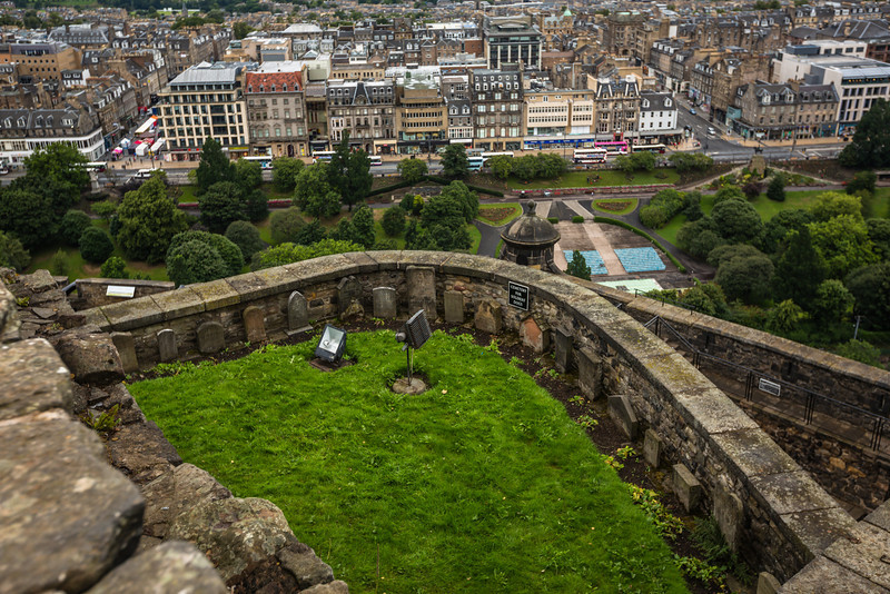 Soldier's Dog Cemetery at Edinburgh Castle