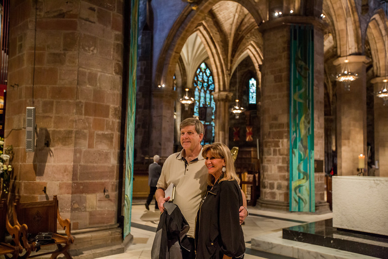 Tour A at the High Kirk