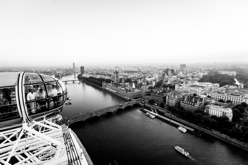 The London Eye, Big Ben, and Parliament
