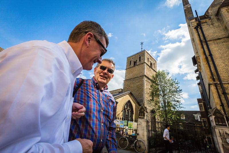 Steven Lawson and Sinclair Ferguson in Cambridge