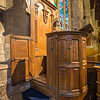 John Knox's Pulpit at St. Salvator's Chapel