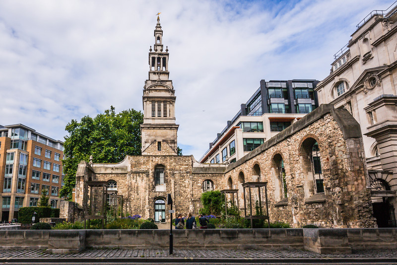 Christ Church Greyfriars Ruins