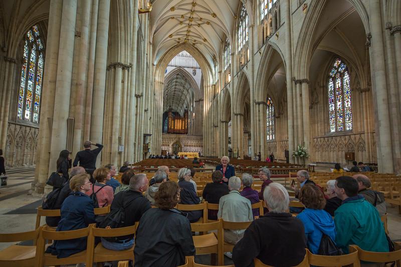 Tour A at York Minster