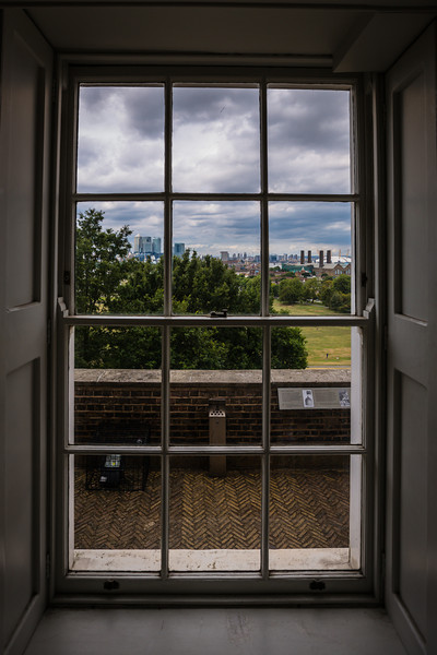 View of London from The Royal Observatory