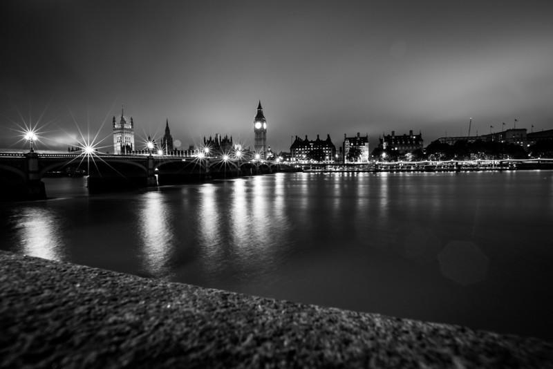 The River Thames and Big Ben