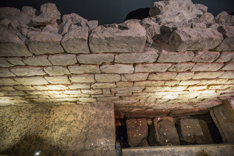 Roman Road in York Minster Crypt