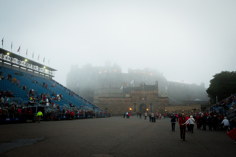 Edinburgh Castle and Military Tattoo