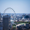 The London Eye from St Paul's Dome