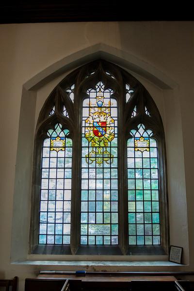 Stained Glass Honoring Hugh Latimer