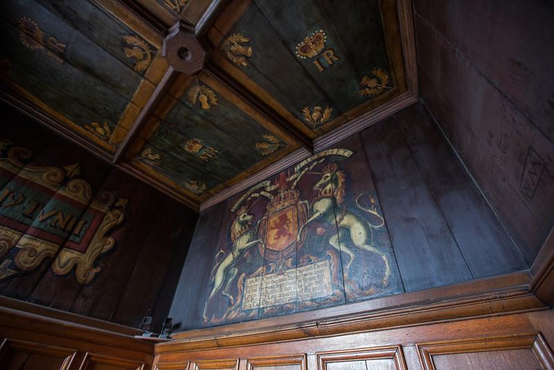 Room where King James VI was born