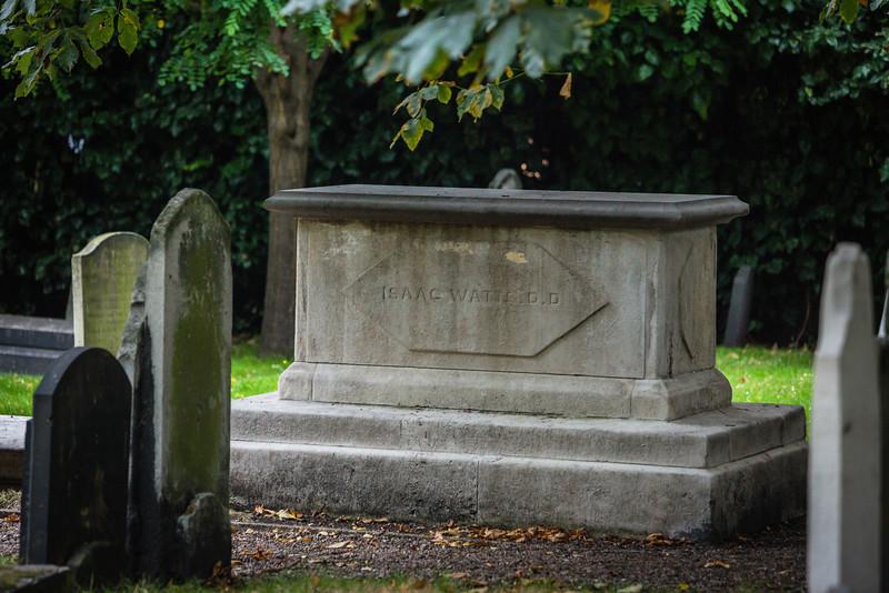 Isaac Watts Grave