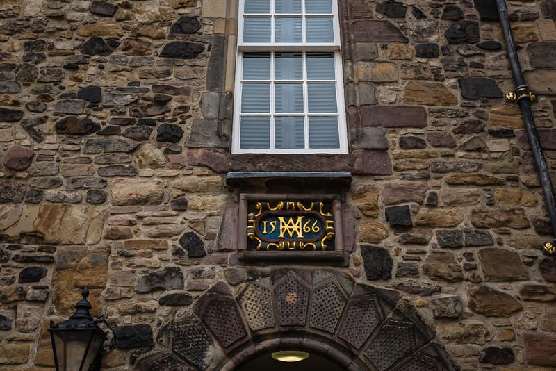 Royal Palace at Edinburgh Castle