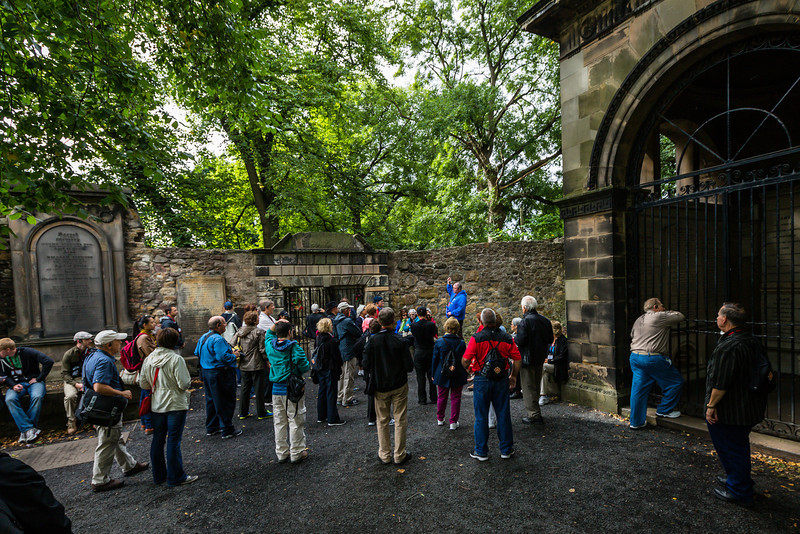 Tour A at Covenanters Execution Site
