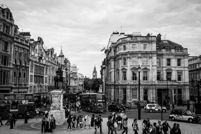 Trafalgar Square and Big Ben