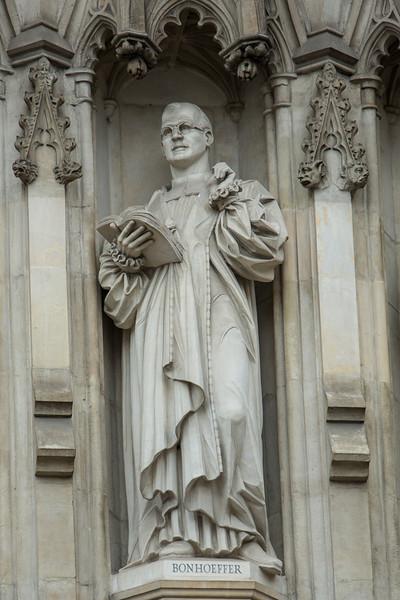 Dietrich Bonhoeffer Statue at Westminster Abbey