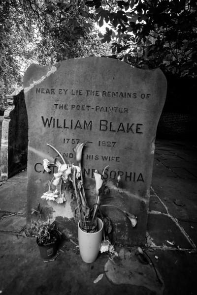 Willaim Blake Grave