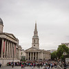 Trafalgar Square and St Martin