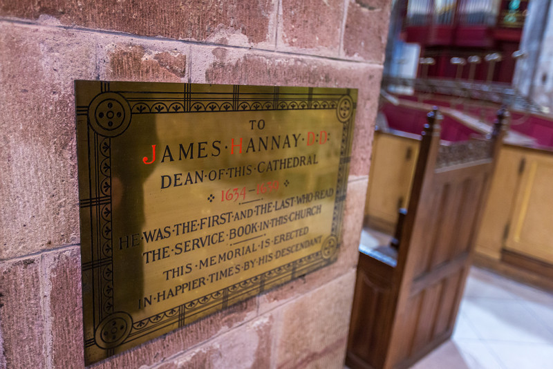 Plaque to James Hannay