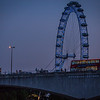 Waterloo Bridge and London Eye
