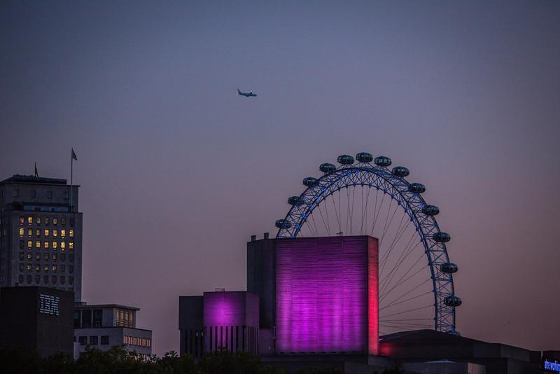 London Eye and Riverside