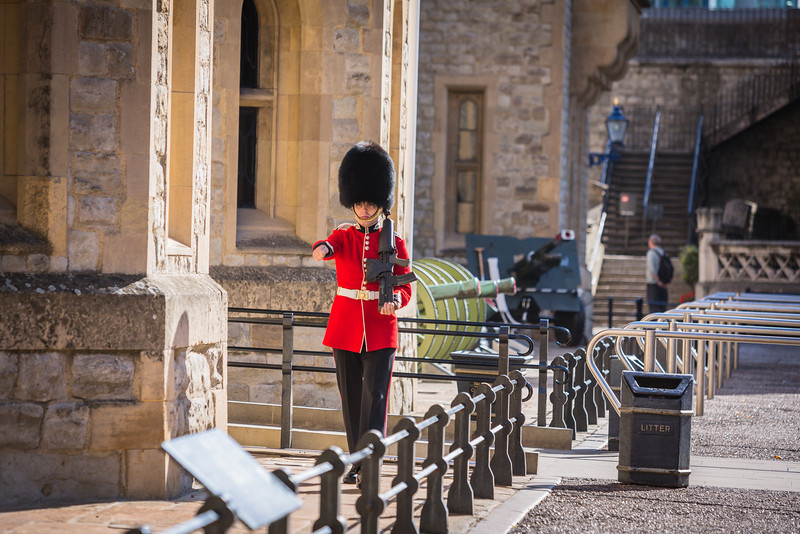 Tower of London Queen's Guard