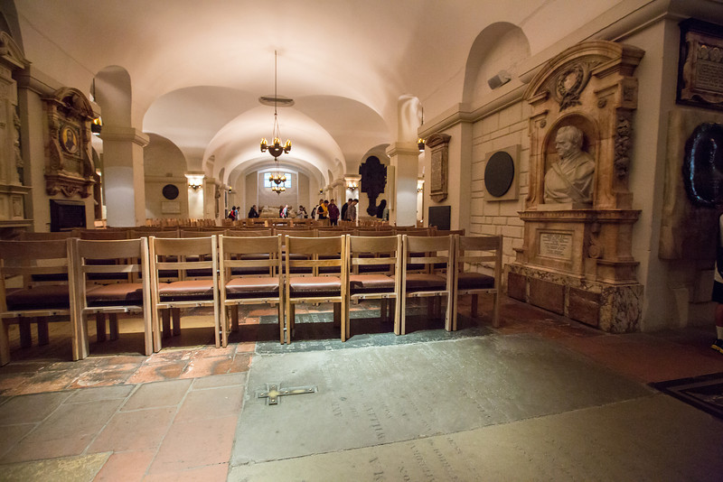 St. Paul's Cathedral Crypt