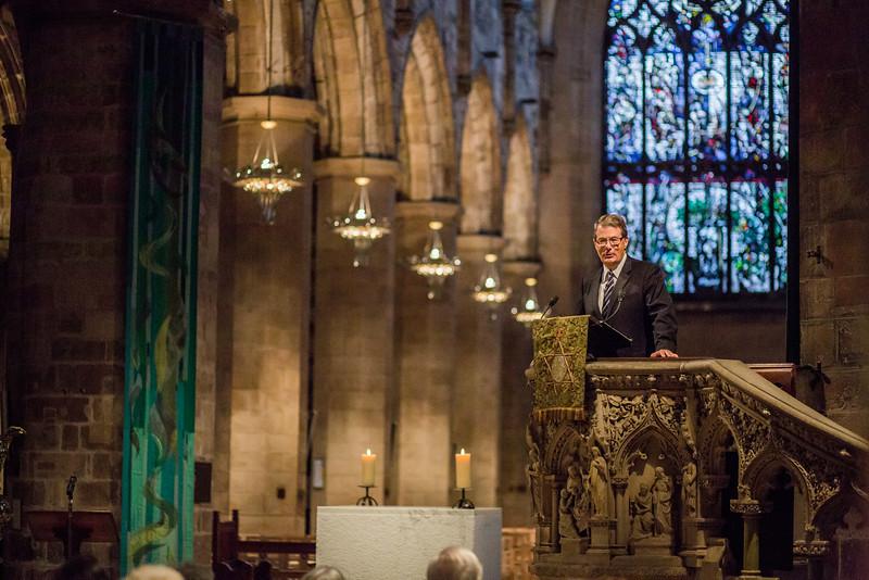 Robert Godfrey Preaching in the High Kirk