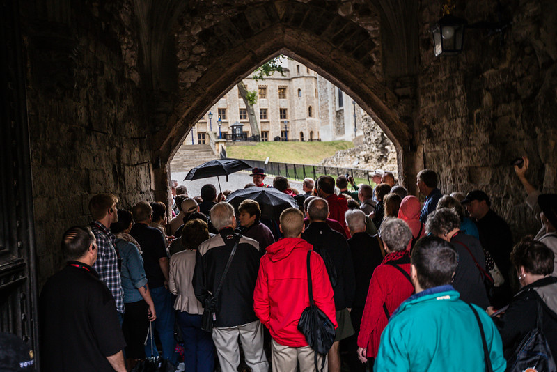 Tour A at the Tower of London