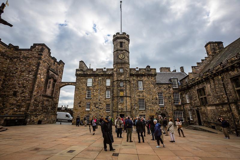 Tour A at Edinburgh Castle