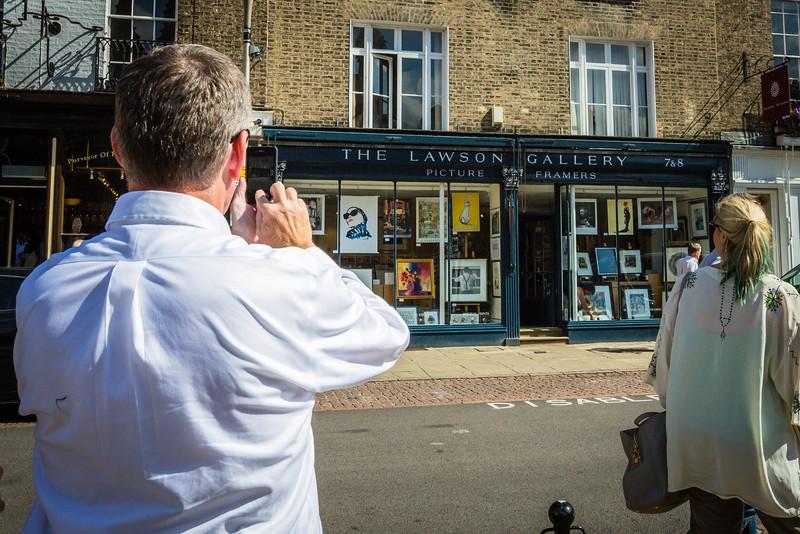 Steven Lawson in Cambridge