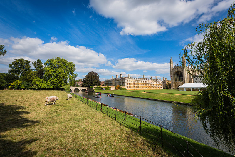 King's College Chapel and the River Cam