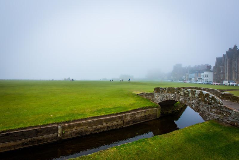 Swilcan Bridge at St Andrews Links