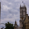 London Eye, Big Ben, and Westminster Abbey