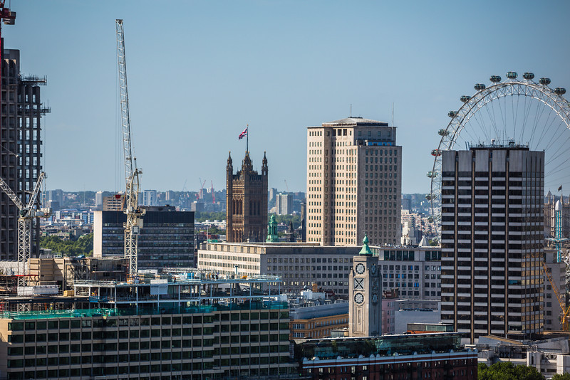 London Skyline from St Paul's Dome