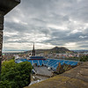 Military Tattoo Stadium from Edinburgh Castle